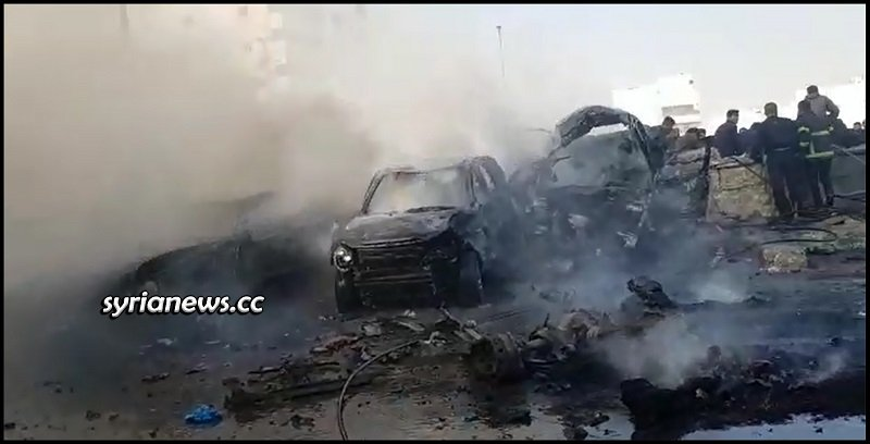 Al-Bab bombing carried out by a former Erdogan terrorist from Hamzat group - Aleppo -Turkey