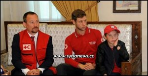 Albanian child Alvin heading to Italy after being handed over to IFRC by Syrian Authorities