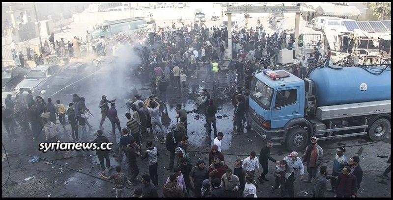 bombing in Al-Bab city northern Aleppo countryside - Turkey - Kurds