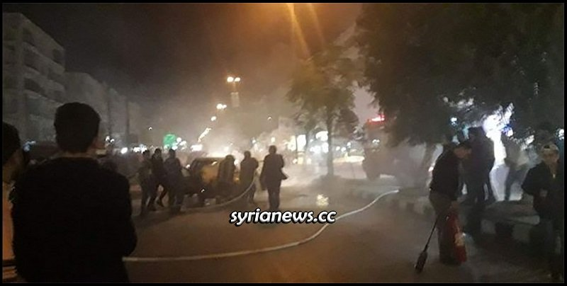 dozens killed by Erdogan terrorists bombing in Aleppo