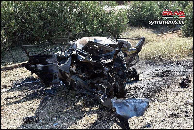 SAA bombs a suicide bomber in Khan Shaykhoun