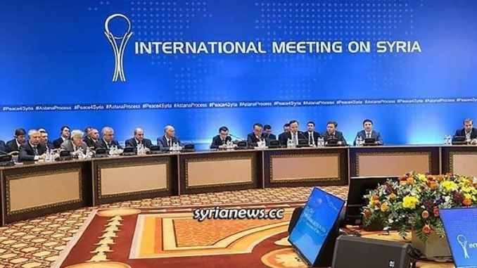 Astana Talks on Syria