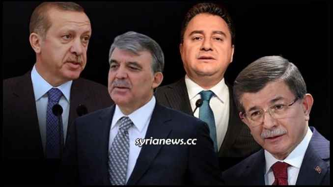 Erdogan, Gul, Babajan, and Davotuglo: Yesterday's friends today's enemies