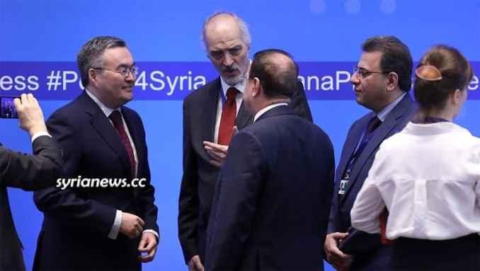 Bashar Jaafari Astana talks on Syria