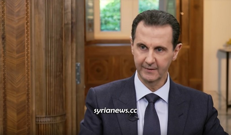 Syrian President Bashar Assad interview with Chinese Phoenix channel