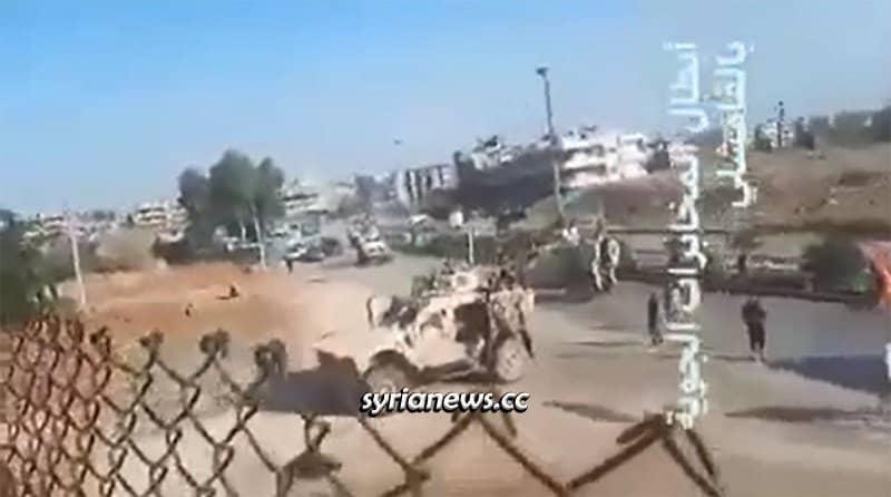 Syrian Security push back Trump Forces near Qamishli Airport