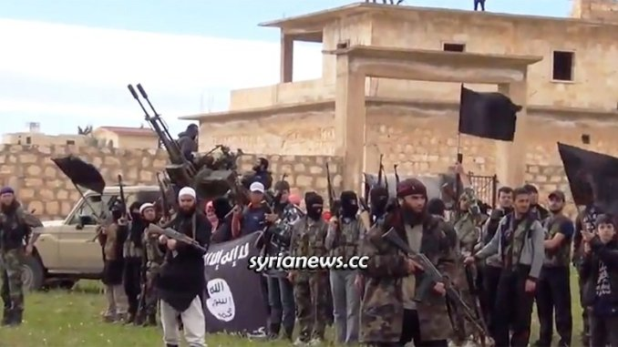 Al Qaeda NATO terrorists north of Syria