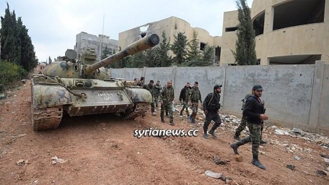 Syrian Arab Army SAA Aleppo - Idlib