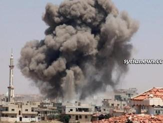 NATO terrorists bomb residential neighborhoods in Aleppo