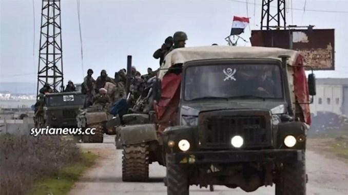 SAA Syrian Arab Army - Damascus - Aleppo Highway Idlib M5