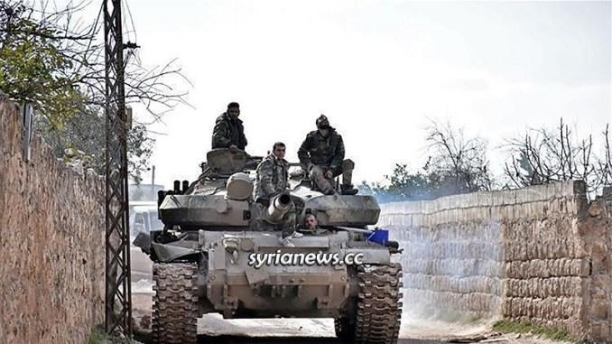 SAA Syrian Arab Army Idlib - Aleppo