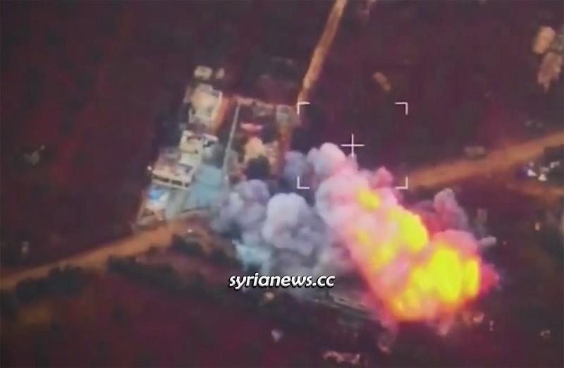 Syrian Arab Army SAA and Russian Air forces decimated Erdogan terrorists, Nayrab, Idlib