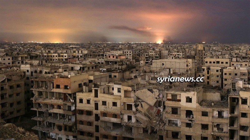 Duma city, Damascus Countryside, Syria