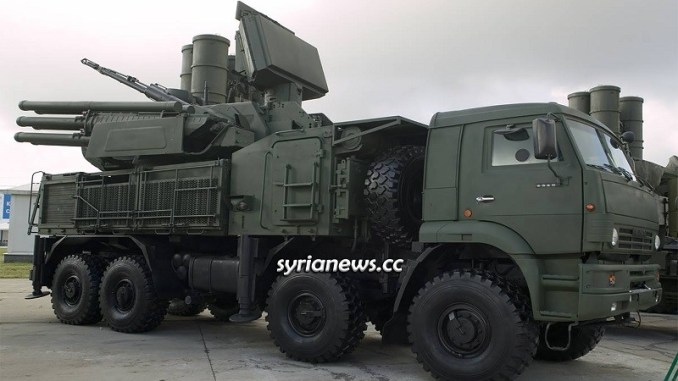 Russian Pantsyr Air Defense unit - Syria Idlib - Turkey