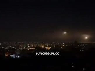 Israel bombing of Damascus outskirts on the 4th day of Ramadan