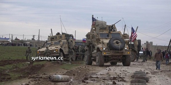 US Trump forces unwelcome by locals in northeast of Syria East of the Euphrates