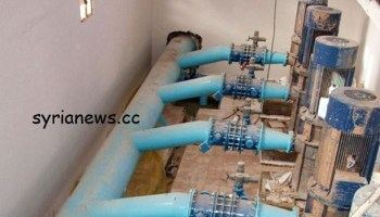 Erdogan terrorists cut off the drinking water at Allouk water pump in Hassakeh