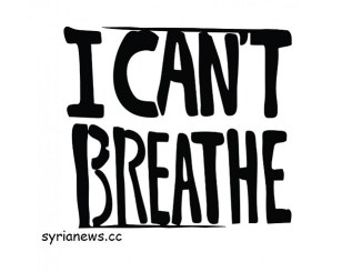 I can't breathe - George Floyd