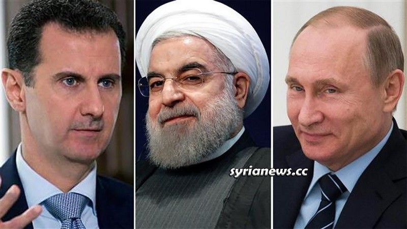 Syria Bashar Assad Iran Hassan Rouhani Russia Vladimir Putin