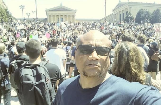 rally for George Floyd