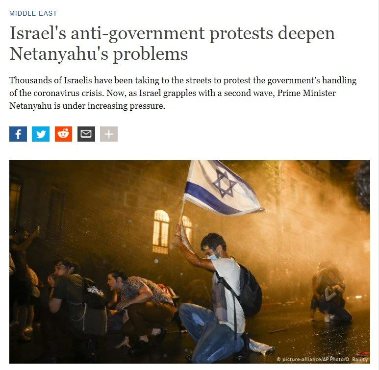 Protests against Netanyahu - DW