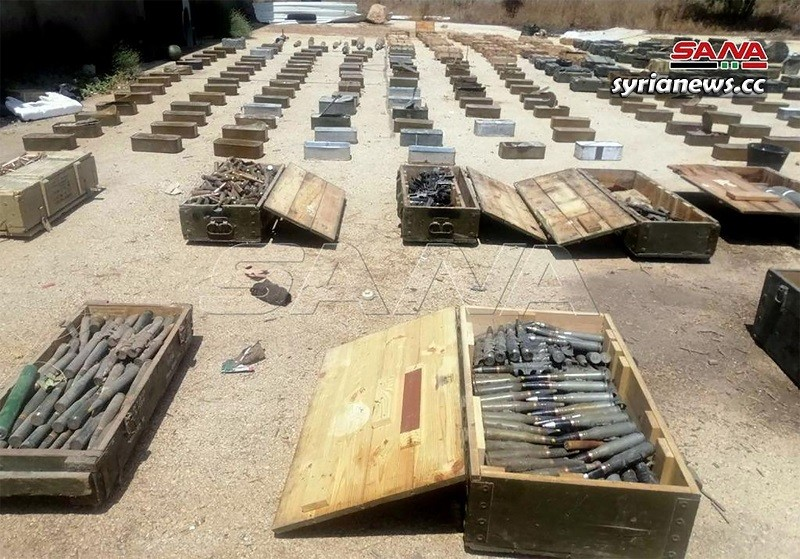 Weapons and munition heading to Idlib terrorists, no more