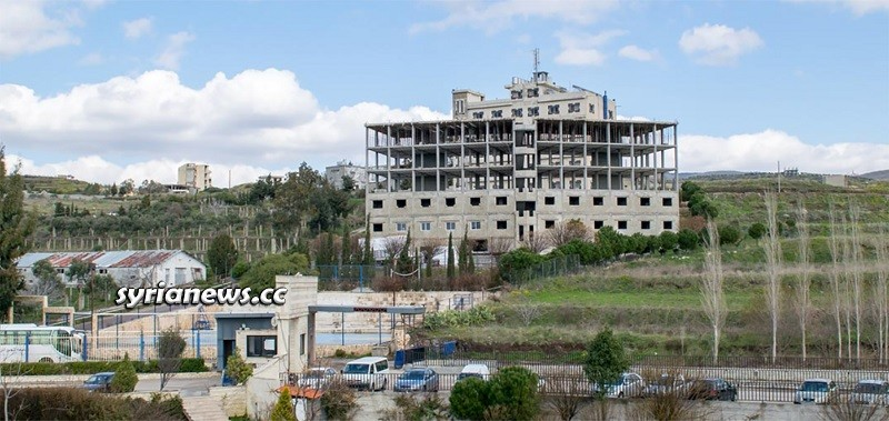 Dr Farzat Ayoub Hospital - Al Hawash University Hospital Homs Syria Construction