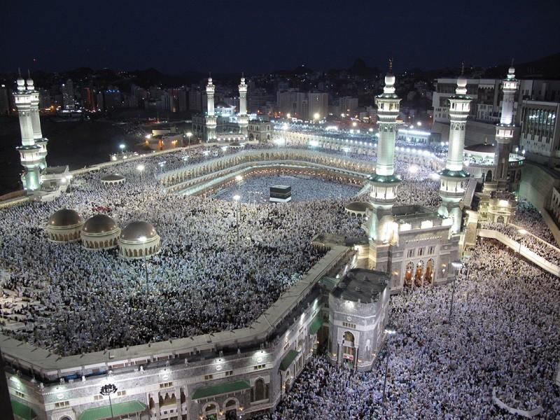 Masjid Haram and Kaaba - Mecca