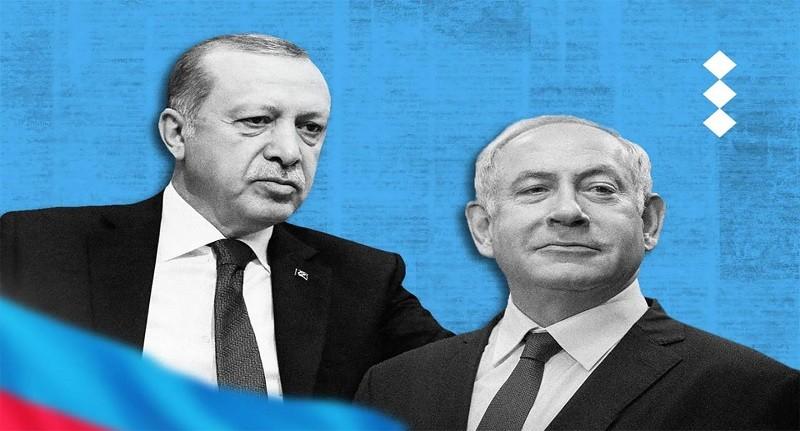 Turkey Erdogan Israel Azerbaijan Armenia Iran Syria Russia