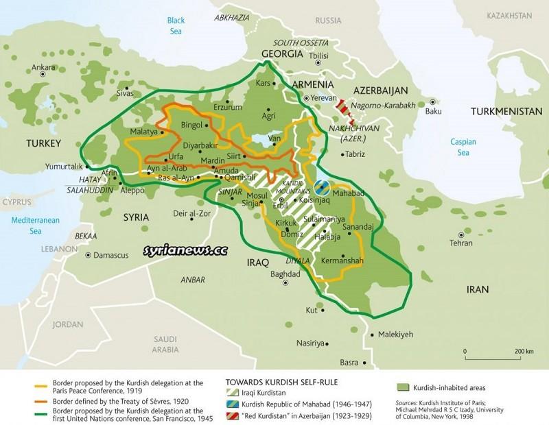US-sponsored Kurdish 'Roj Ava' plot against the countries of the region