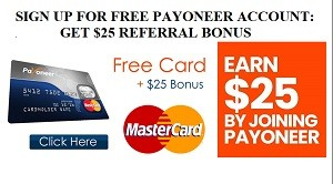 Payoneer referral