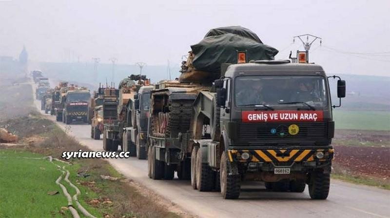 Erdogan sends more Turkish troops into Idlib northwest of Syria