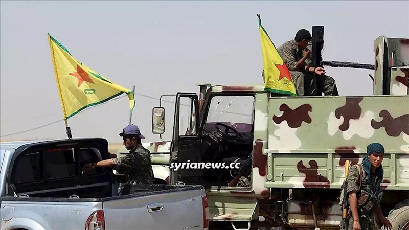 Kurdish SDF and US troops steal Syrian oil