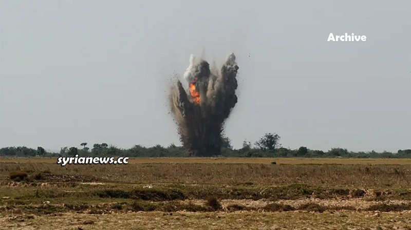 Landmine IED explosion Syria - archive