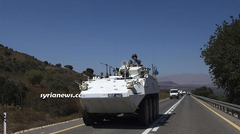 UNDOF Syria Golan