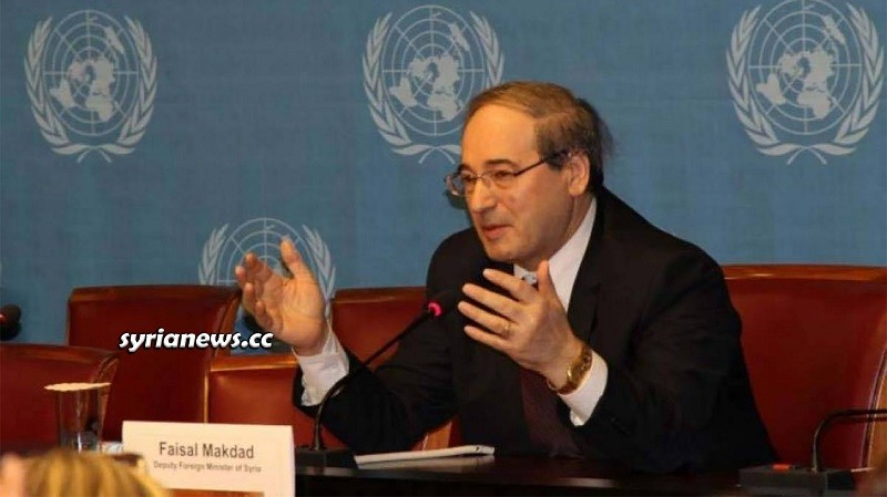 Faysal Mikdad Syria Minister of Foreign Affairs and Expatriates