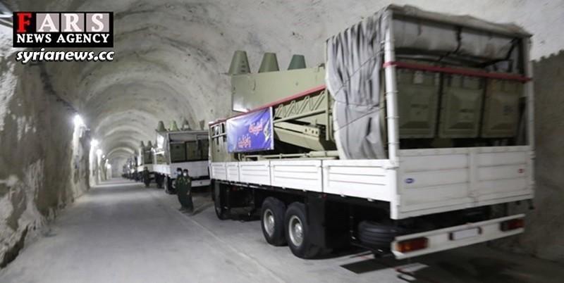 Iranian IRGC Missile base on the Persian Gulf