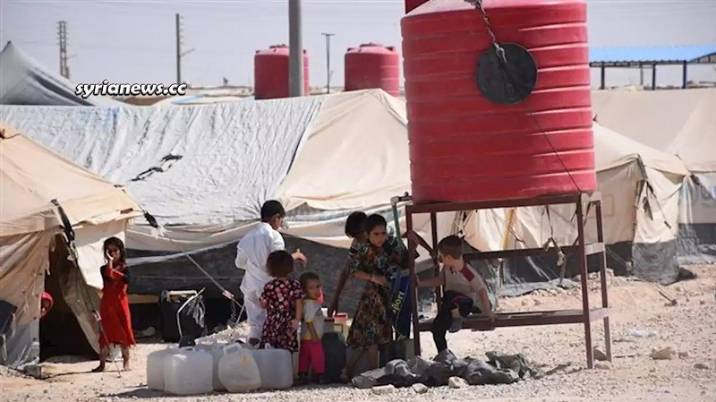 Al Hol (Hawl) Concentration Camp for Syrian Refugees - Hasakah