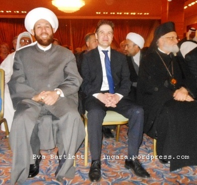 Sheik Ahmed Hassoun, Syria's Grand Mufti, preaches reconciliation and interfaith peace.