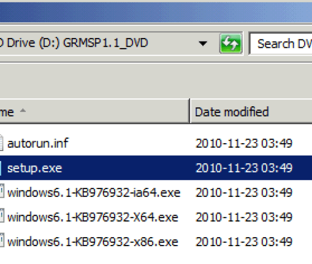 Downloading Sp1 Stand Alone Installer Will Give You An Iso File Containing Three Relevant Exe Files With Different Versions Of The Installer X86