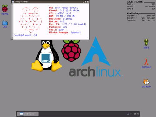 RaspberryPi-archlinux