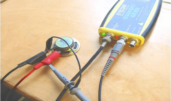 Speaker-Oscilloscope