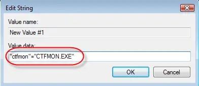 Windows 7 Language Bar Missing