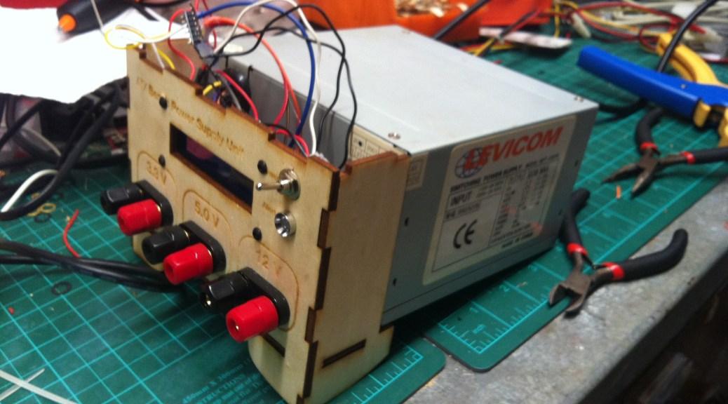 projekt arduino atx netzteil magic smoke. Black Bedroom Furniture Sets. Home Design Ideas