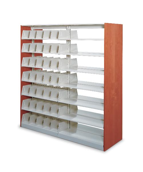 Open File Shelving ShelfStor Stationary 4 Post Shelves