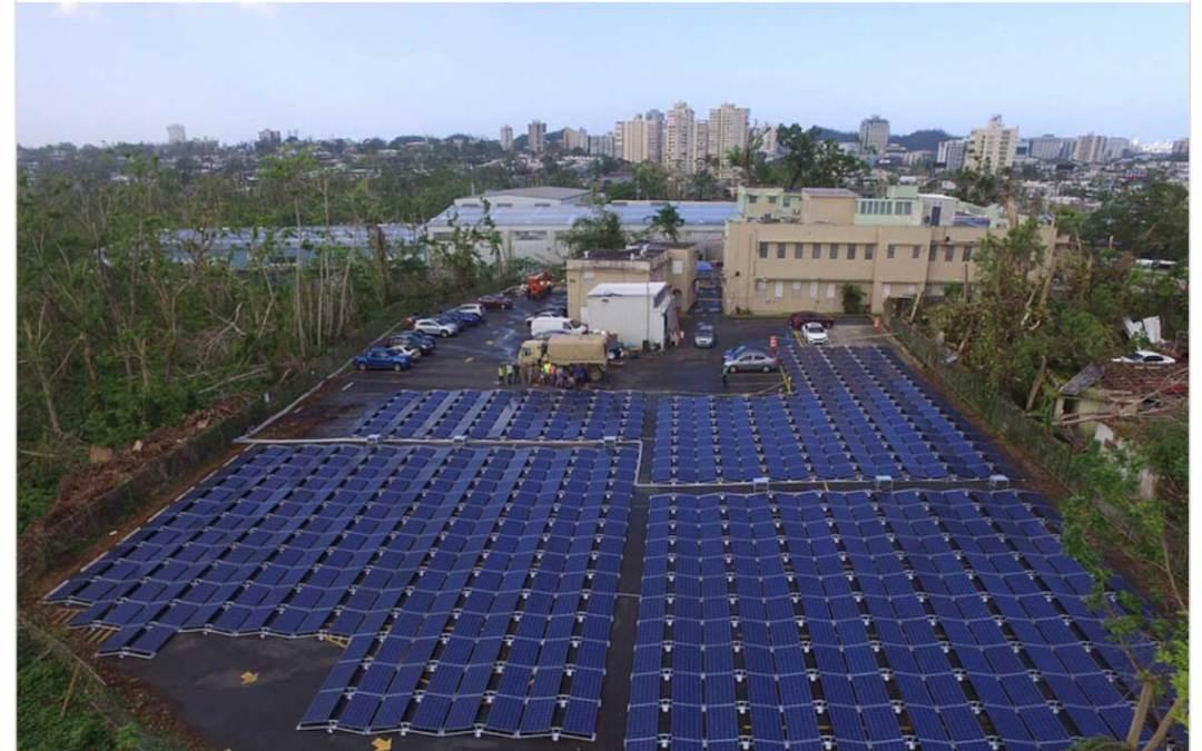 Le solaire au secours de Puerto-Rico