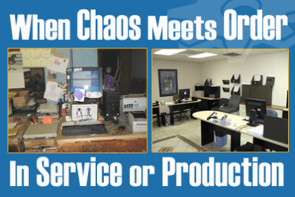 systematized order defeats chaos