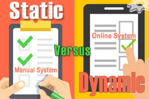 Static Systems versus Dynamic Systems