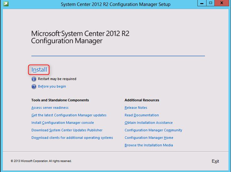 system center 2012 r2 installation guide