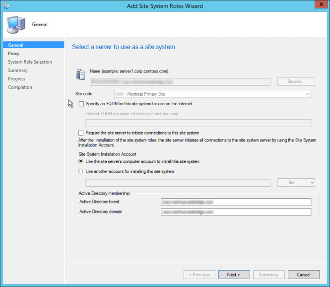 How to install Endpoint Protection Point in SCCM 2012 R2